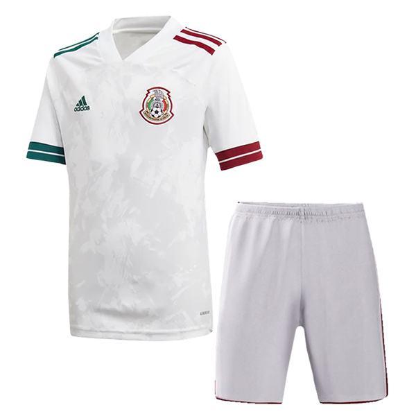 Mexico Away Kids Kit Soccer Children 2ed Football Shirt Youth Uniforms