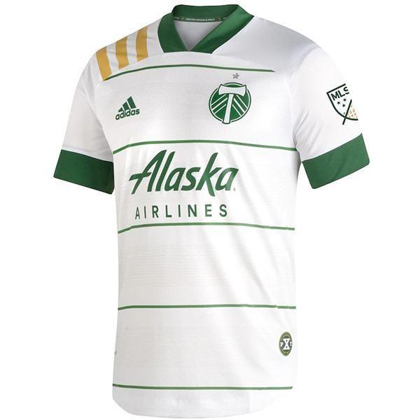 Portland Timbers maglia da calcio da trasferta di match seconda maglia da calcio sportivo da uomo 2021