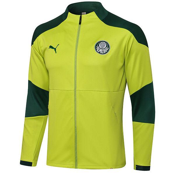 Palmeiras giacca abbigliamento sportivo da calcio tuta da allenamento con cerniera completa da uomo maglia da calcio per esterno atletico verde 2021-2022