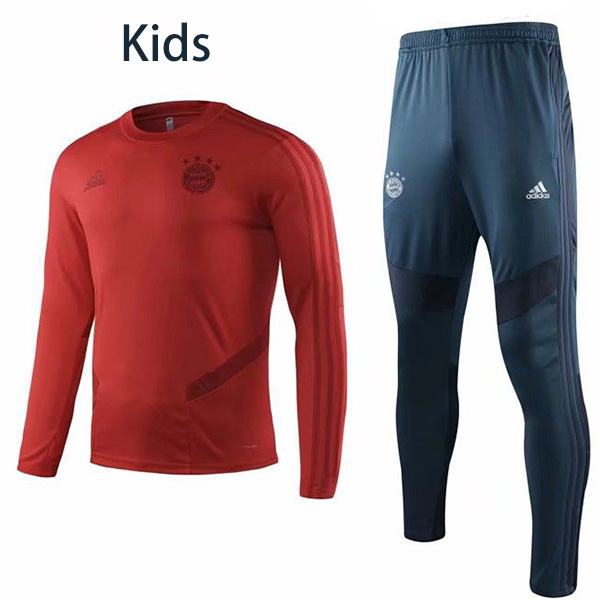Bayern Munich Tracksuit Kids Football Sportwear Tracksuit Children Training Kit Athletic Outdoor Youth Soccer Coat 2019