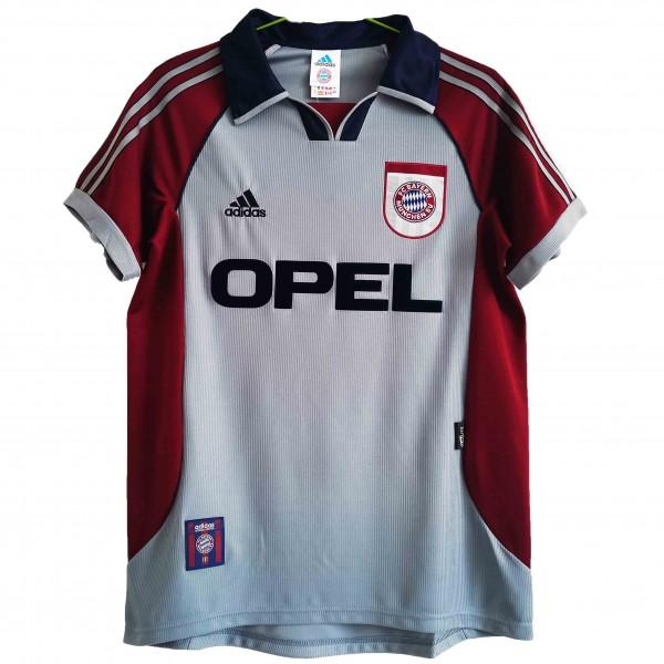 Bayern Monaco maglia da calcio vintage retrò da uomo del seconda maglia sportiva da calcio da uomo 1998-1999