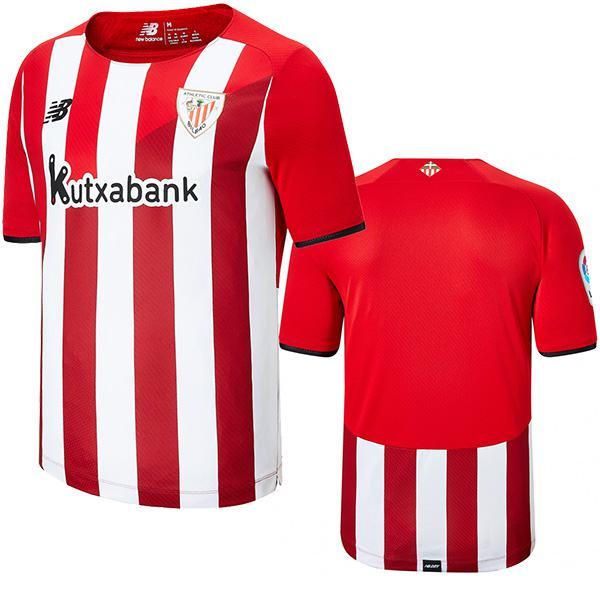 Athletic Bilbao maglia da casa dell' partita di calcio vintage da uomo, prima maglia da calcio sportiva 2021-2022