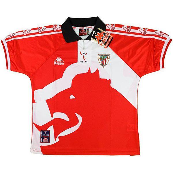 Athletic Bilbao maglia da calcio vintage da casa dell' prima maglia sportiva da uomo maglia sportiva 1998