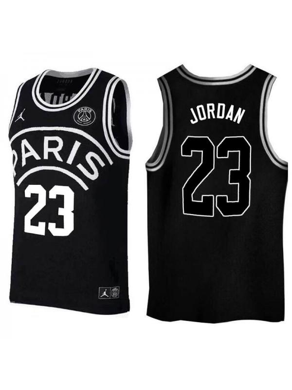 Jordan Paris Saint Germain 23 Basketball Jersey 2018/2019 black