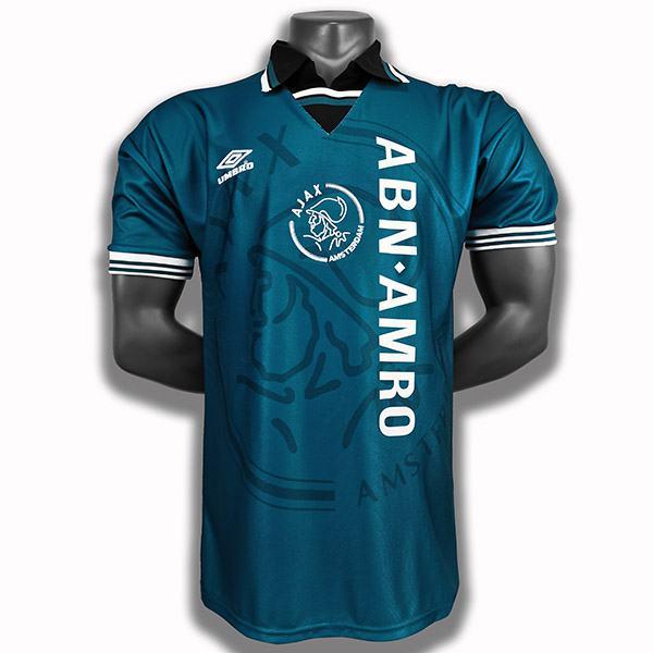 Ajax away retro soccer jersey maillot match men's second sportwear football shirt 1994-1995