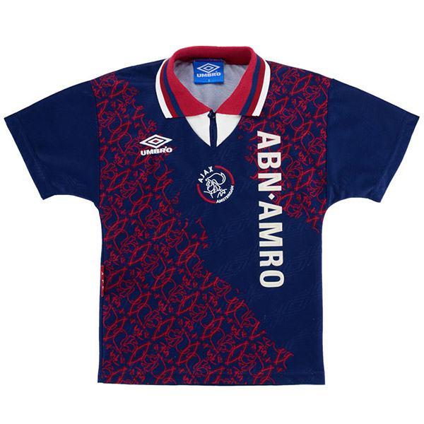 Ajax away soccer jersey maillot match men's 2ed sportwear football shirt 1994-1995