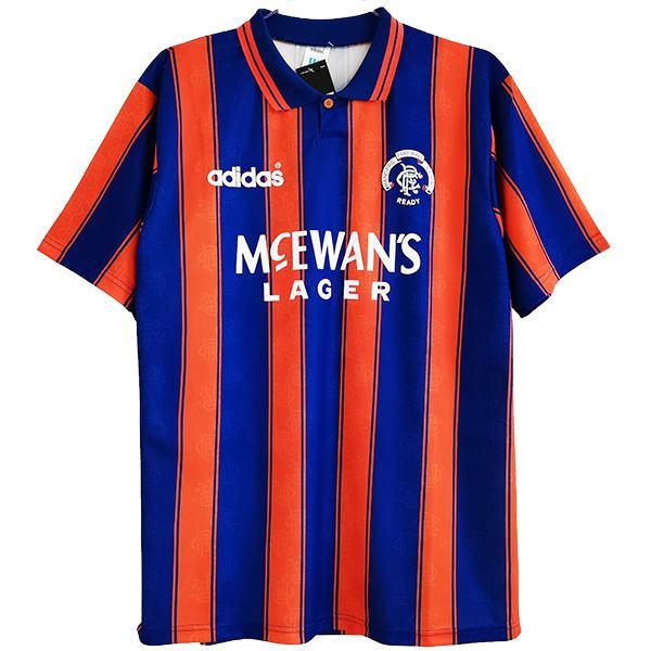 Rangers away retro soccer jersey maillot match men's second sportwear football shirt 1993-1994