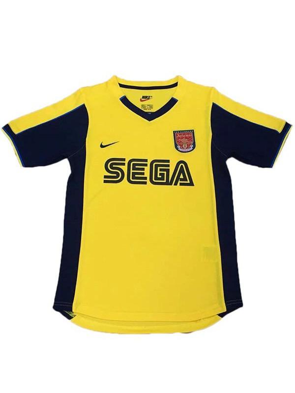 Arsenal away retro soccer jersey maillot match men's 2ed sportwear football shirt 2000