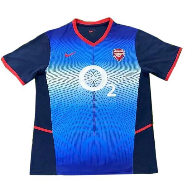 Arsenal Maglia da calcio retrò da trasferta dell'seconda maglia da calcio sportiva da uomo seconda maglia da calcio 2002-2004