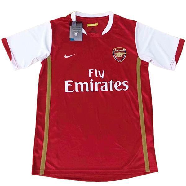 Arsenal home retro jersey match prima maglia sportiva da calcio da uomo 2006
