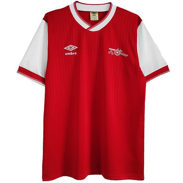 Arsenal maglia da calcio retrò dell' home maillot match prima maglia da calcio sportiva da uomo 1983-1986
