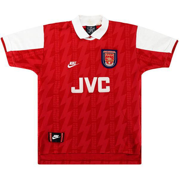 Arsenal home retro soccer jersey maillot match prima maglia da calcio sportiva da uomo 1994-1996