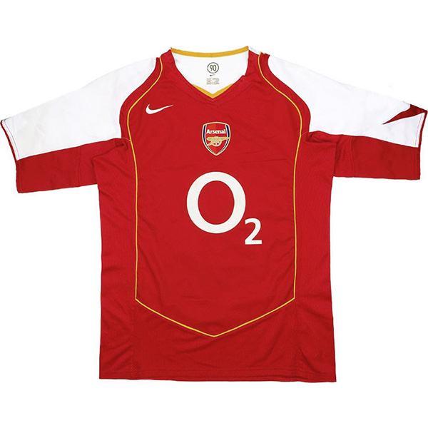 Arsenal home retro soccer jersey maillot match men's 1st sportwear football shirt 2004-05