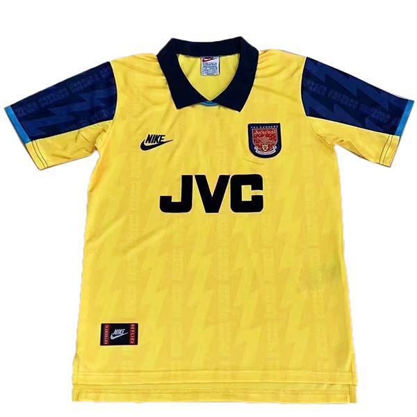 Arsenal terza maglia da calcio retrò dell'maillot match terza maglia da calcio sportiva da uomo 1994-1996
