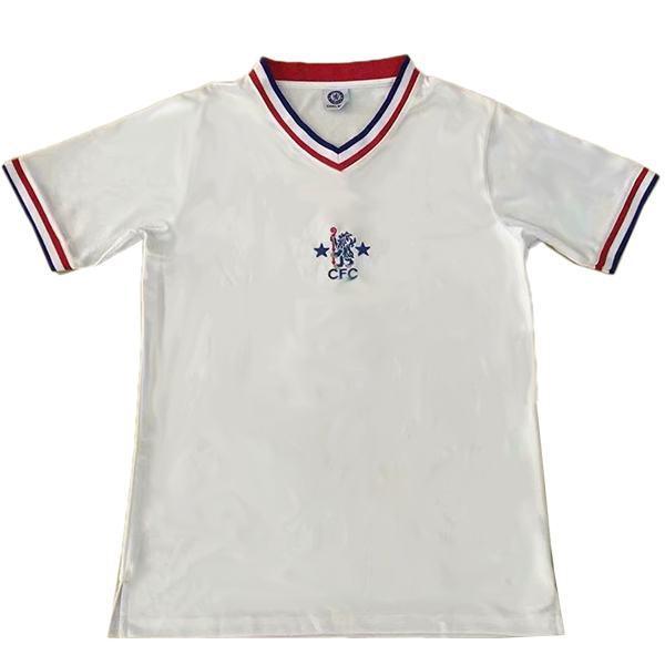 Chelsea away retro soccer jersey maillot match seconda maglia da calcio sportiva da uomo 1982-1983