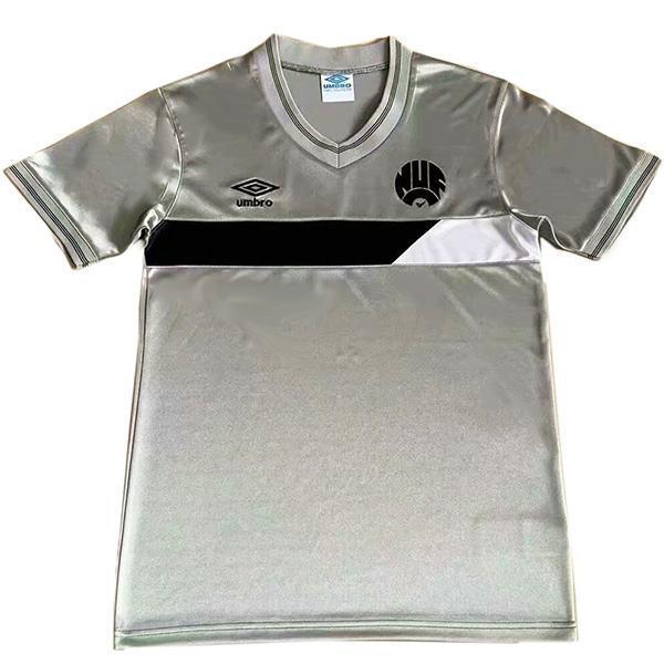 Newcastle United Maglia da calcio vintage retrò da trasferta del partita da uomo secondo abbigliamento sportivo da calcio 1986-1987