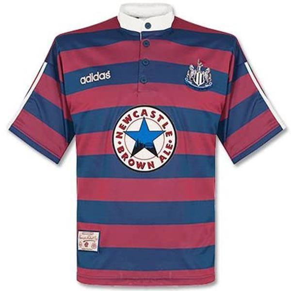 Newcastle United home retro jersey vintage soccer match prima maglia da calcio sportswear da uomo 1995-1996