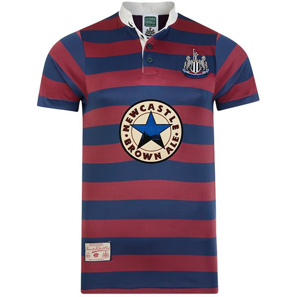 Newcastle United home retro jersey vintage soccer match prima maglia da calcio sportswear da uomo 1996-1997