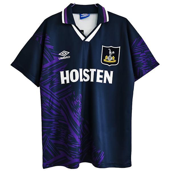 Tottenham Hotspur away retro soccer jersey maillot match seconda maglia da calcio sportiva da uomo 1994-1995
