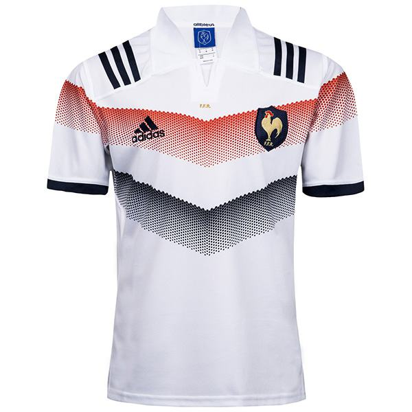 France 2018 world cup rugby Jersey white