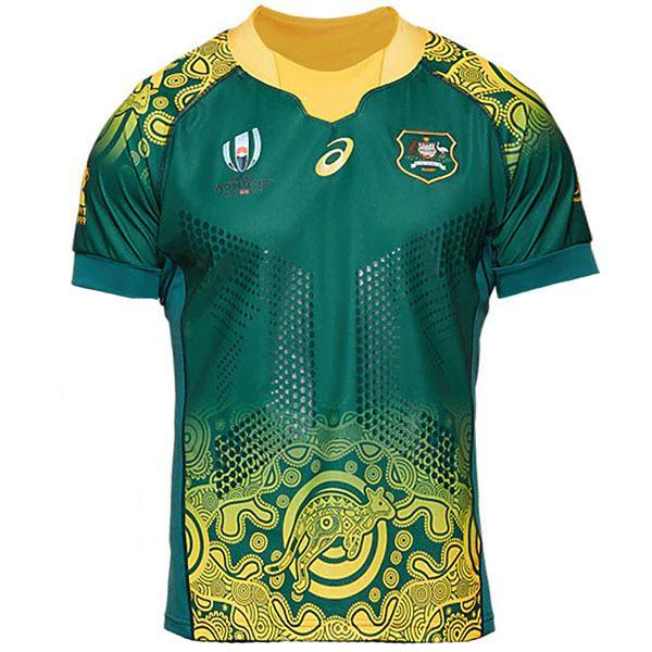 Australia Away 2019 Rugby World Cup Men's Gameday RWC Replica Jersey