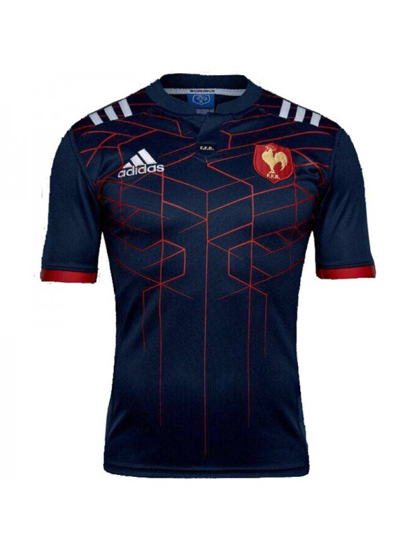 France home rugby jersey 2017 blue