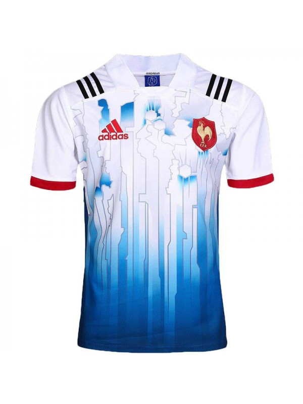 France home rugby jersey FFR 2017 white