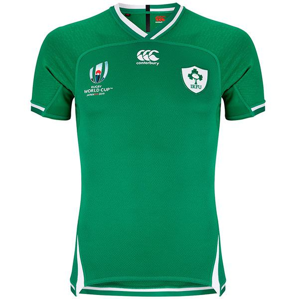 Ireland Home 2019 Rugby World Cup Men's Gameday RWC First Replica Jersey