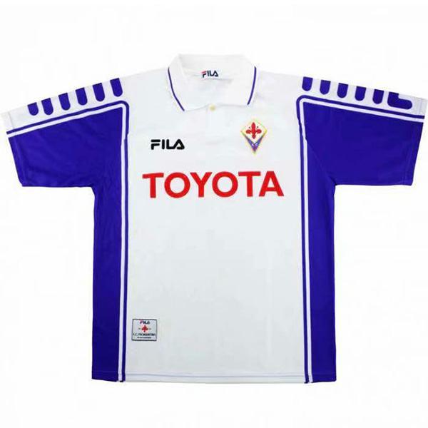 ACF Fiorentina away retro jersey maillot match men's second soccer sportwear football shirt 1999-2000