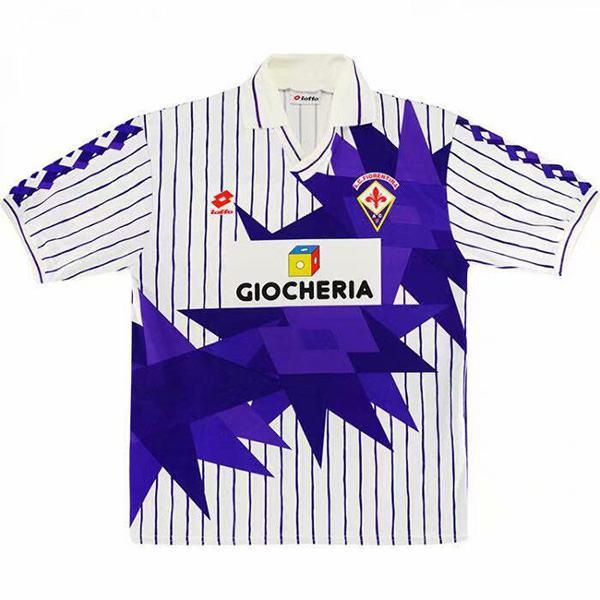 ACF Fiorentina maglia da calcio retrò seconda maglia da calcio da uomo seconda maglia sportiva 1991-1992