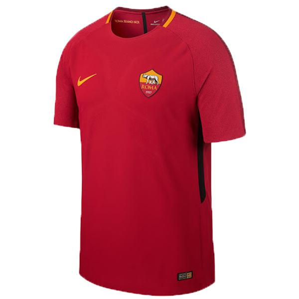 AS roma home retro soccer jersey maillot match prima maglia da calcio sportiva da uomo 2017-2018