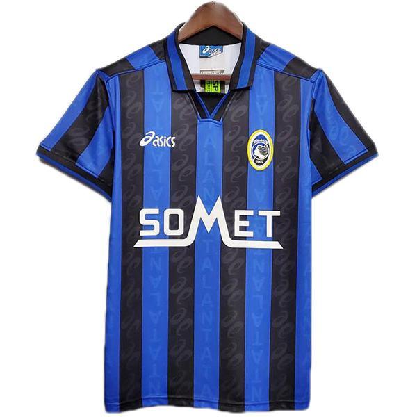 Atalanta home retro soccer jersey maillot match prima maglia da calcio sportiva da uomo 1996-1997