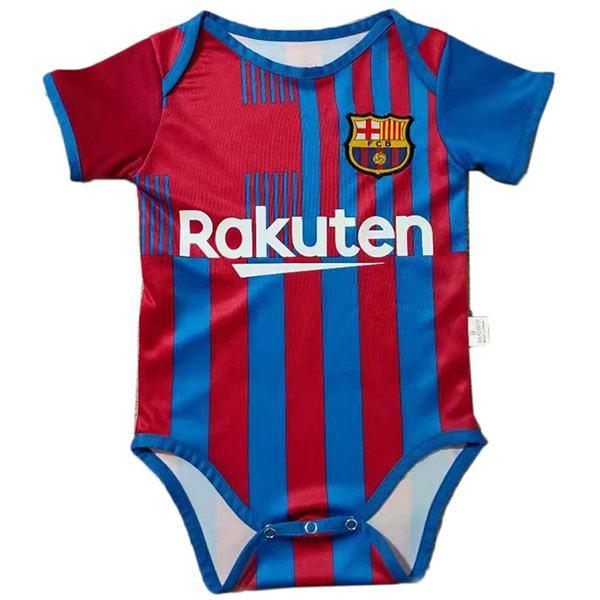 Barcelona Tuta intera di un pezzo per abiti estivi da neonato di barcellona casa 2021-2022