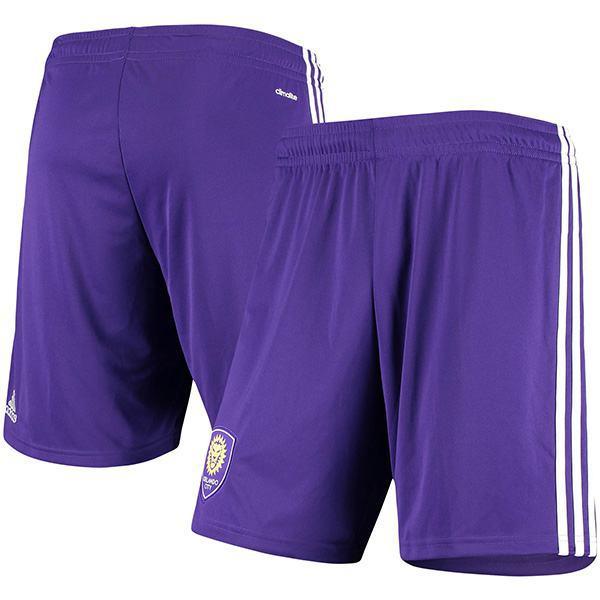 Orlando City I pantaloncini della maglia da calcio casalinga di abbinano i pantaloni della camicia da calcio sportiva da uomo viola 2021