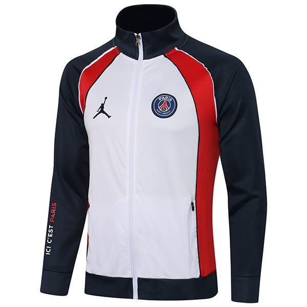Jordan giacca calcio abbigliamento sportivo tuta cerniera completa maglia da allenamento da uomo atletico cappotto da calcio all'aperto verde acqua 2021-2022