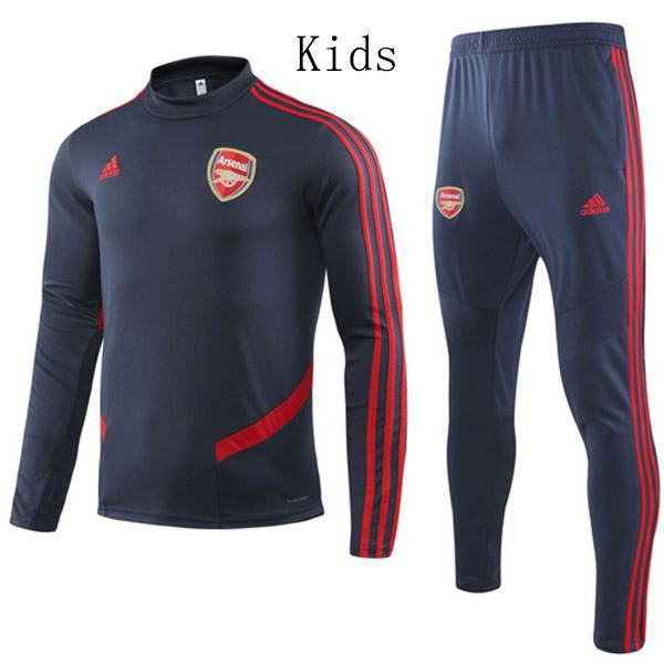 Arsenal Tracksuit Kids Kit Champions League Soccer Pants Suit Sports Set Necked Cleats Youth Clothes Children Football Training Jersey 2019-2020