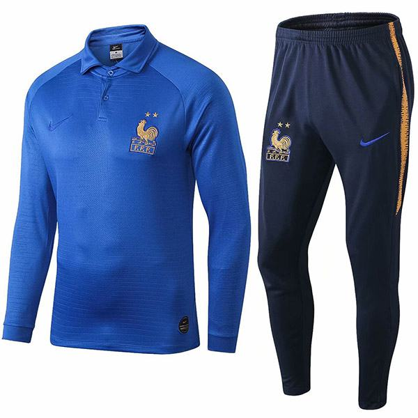 France 100th anniversary tracksuit kit training jersey 2019